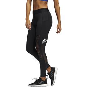 adidas Alphaskin Power Laser Performance Tights Women, negro/blanco